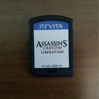 🚚 PS Vita Assassin Creed III Original Game (no box)