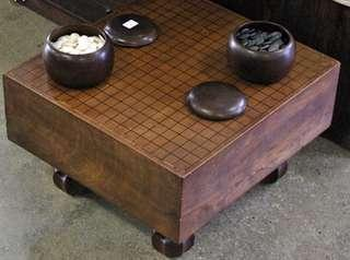 Antique Japanese go board