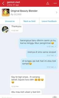 Testimoni Beauty Blender❤️