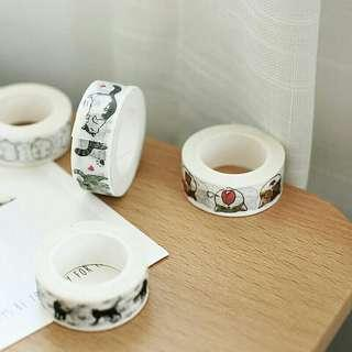 Cute Cats Washie tape