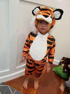 Tiger costume for 18-24mos