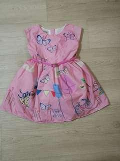 Lightly used pink girl dress