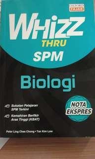 Biologi SPM Whizz