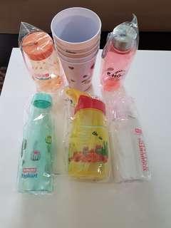 Cups/bottles(10)