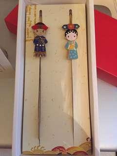 中國人景泰藍藝術書簽