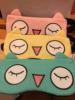 Eyeshade x 3 眼罩 3個 Miniso