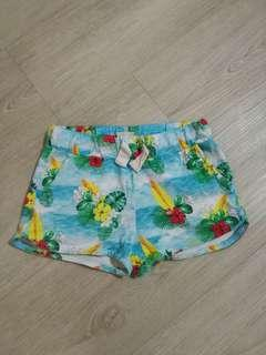 Preloved Zara girl beach shorts