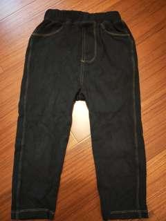 🚚 【五零方案】瘦版彈性褲 黑