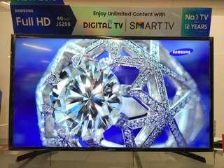 "Samsung Smart LED TV 40"" Promo Kredit Gratis 1x Cicilan Proses Cepat"