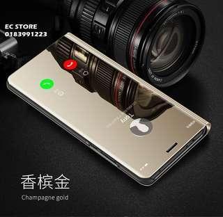 Mirror Clear View Flip Case for Huawei Nova 2i 3i 3e