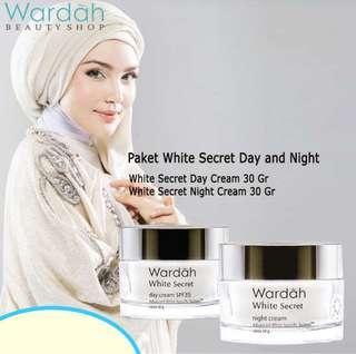 Paket Wardah White Secret Day and Night Cream 30ml