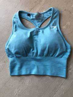 3bd3e246fb9351 Gymshark seamless sports bra size xs