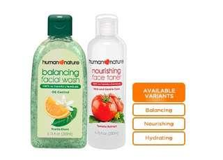 Human Nature Bundle Cleanser and Toner