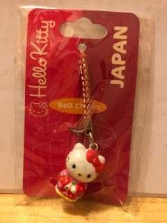 Hello Kitty Bell Charm Japan Sanrio