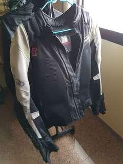 Komine Camo blue padded Jacket