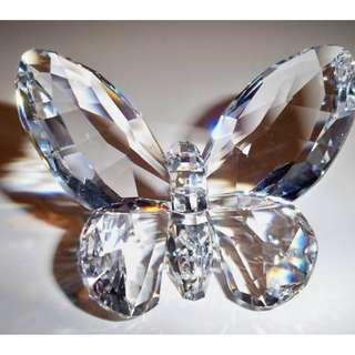 Swarovski CLEAR Butterfly