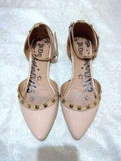 Brash by Payless nude shoes
