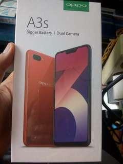 Oppo A3s Ram 2GB free 1x cicilan tanpa CC