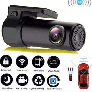 New Mini Car Wifi Dash Camera - Link to Phone App