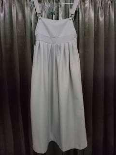 Overall Mocca Jumpsuit Dress