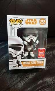 Funko pop imperial patrol trooper sdcc star wars