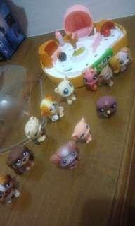 Littlest pet shop 11pcs