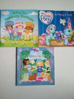 3@$6! Girls Fave. My Little Pony /Strawberry Shortcake (Nursery/Preschool)