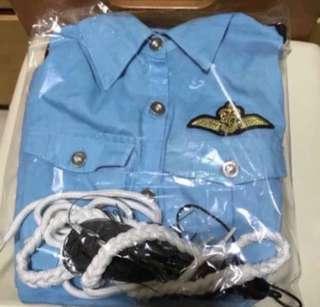 女警員套裝👮🏻♀️(萬聖節服飾🎃)👉🏻代友放,非誠勿擾👈🏻✨全新✨
