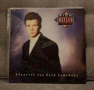 "12"" Long Playing (LP) - Rick Astley"