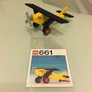Vintage Lego 661 (經典懷舊70年代飛機)