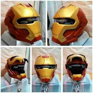 IronMan Real Motorbike Helmet