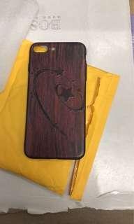 Apple iPhone 7+ 8+ wood case