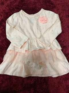 Baby dress 6-9 mos