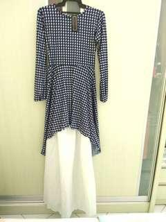 Fish tail blouse & Skirt #OCT10