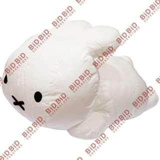 Miffy 白兔 公仔 布公仔 絹布公仔 約長50cm 日本 Sekiguchi 出品 輕盈柔軟 外觀軟塌塌 有彈力非常好抱