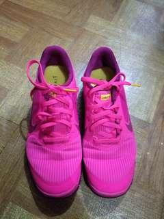 Authentic Nike Free Pink Shoes