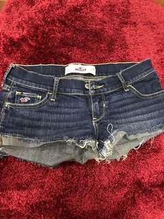 Aeropostale denim shorts are size 25