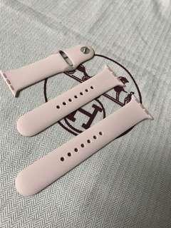 100% Apple Orignial Apple Watch 38/40mm Sport Band Pink 蘋果原裝運動錶帶粉紅色