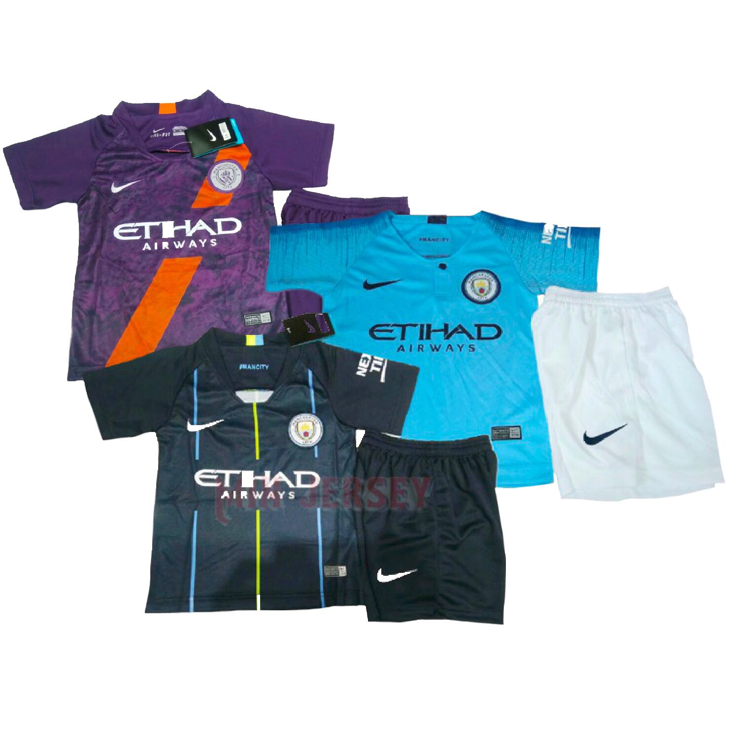 brand new 01a3b e992d 18/19 Manchester City Kids jersey