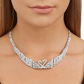 Swarovski ALL ROUND SWAN LAKE Necklace # 5175214 mint in  box (selling at HK$4600)