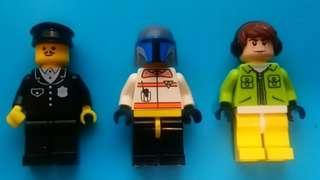 Lego 人仔x3