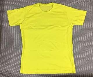 螢光黃T恤