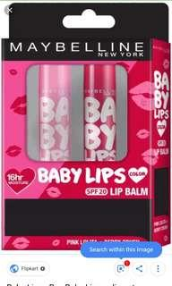 Maybelline BABY lipsmackers