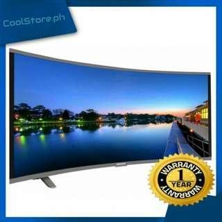 "Mass 40"" UHD4008 Slim HD TV Black LED-M650  Curved"