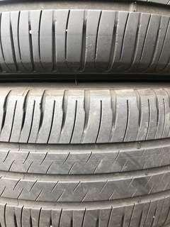 4 X 205/55/16 Michelin Tyres with 40% Threads