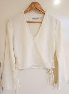 Finders keepers white top
