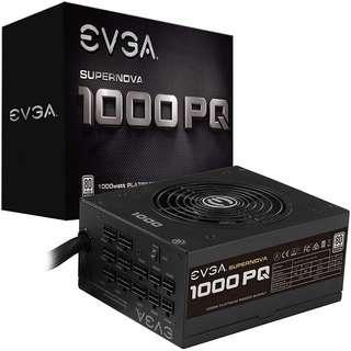 EVGA Supernova 1000 PQ, 80+ Platinum 1000W, Semi Modular, EVGA ECO Mode, 10 Year Warranty, Power Supply 210-PQ-1000-X1