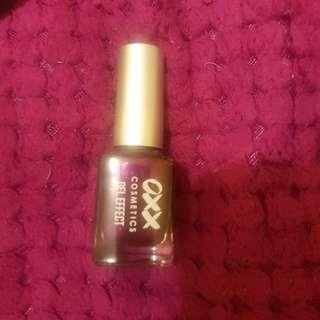 Pretty purple nail polish