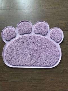 Cat Litter Mat Purple Dust