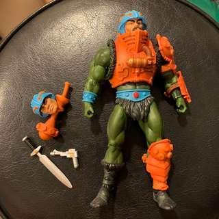 MOTUC He-Man Classic - Man-at-Arm 武器大王